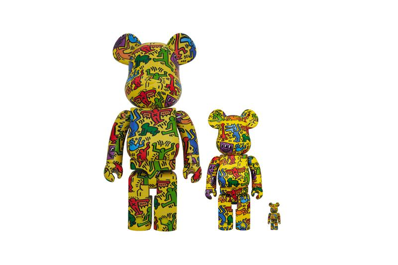 Medicom Toy Drops New jean michel- Basquiat & keith haring Haring BE@RBRICKs 100% 400% 1000% release price info artworks