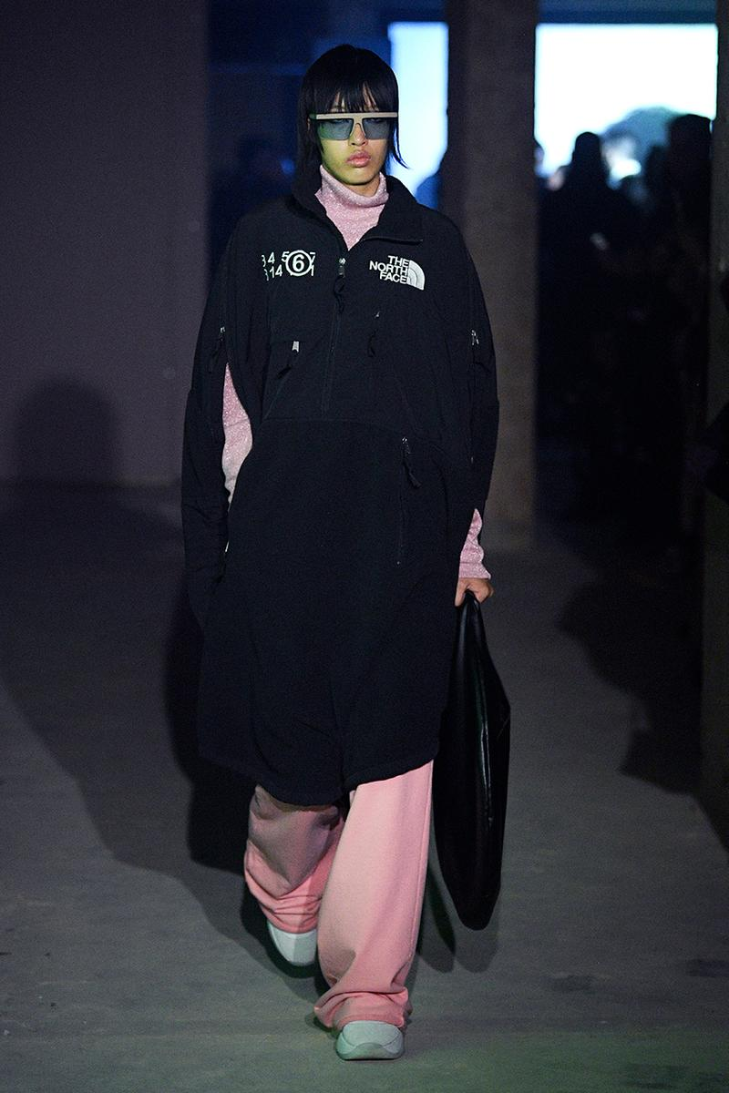 MM6 Maison Margiela x The North Face Fall/Winter 2020 London Fashion Week Show Runway Collection First Closer Look Release Information Menswear Outerwear High End Designer Collaboration Tailoring Womenswear