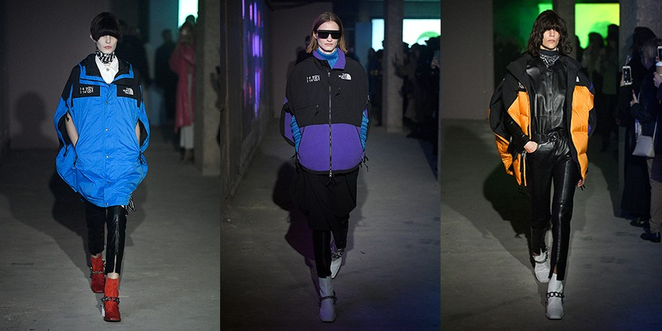 MM6 Maison Margiela Debuts The North Face Collaboration at London Fashion Week