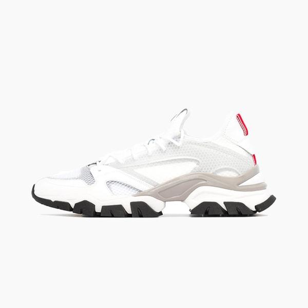 """Moncler Trevor Sneakers """"White/Gray"""""""