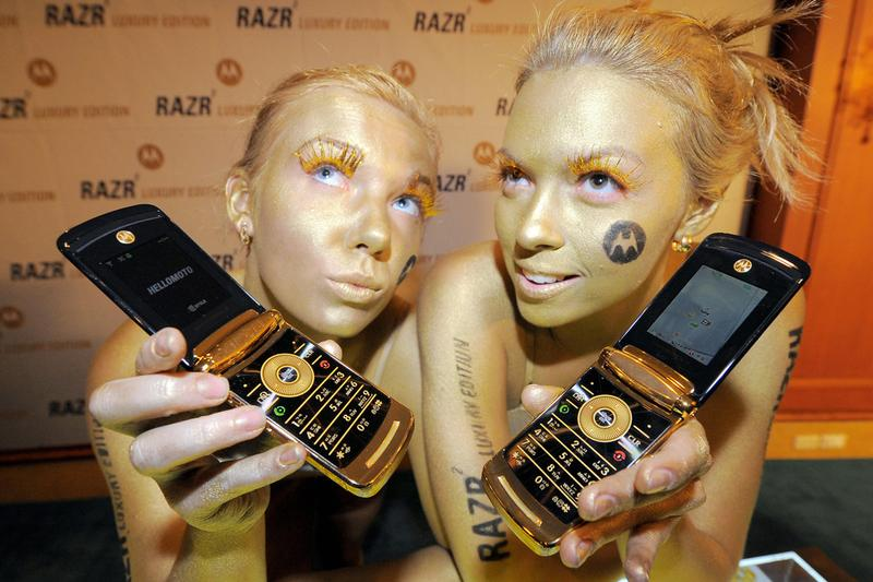 Motorola New Foldable RAZR Gold Rumor Leak Speculation