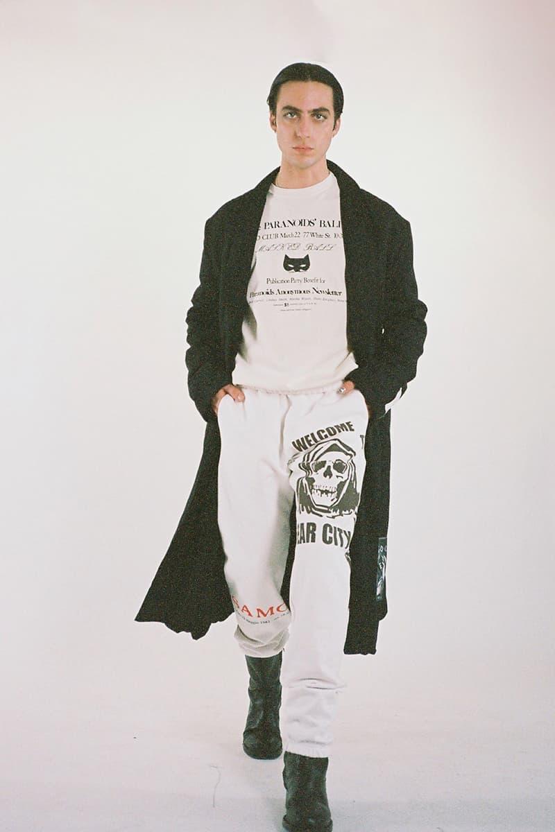 Mr. Saturday Fall Winter 2020 Collection Lookbook info Release Stranger Than Paradise Joey Gollish