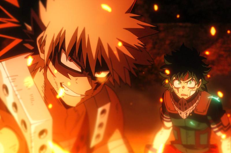 My Hero Academia Heroes Rising Two Heroes Anime Film Review Funimation Toho Bones Crunchyroll