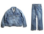 NEEDLES & Lee Update Classic 1970 Jean Jacket and Flared Denim