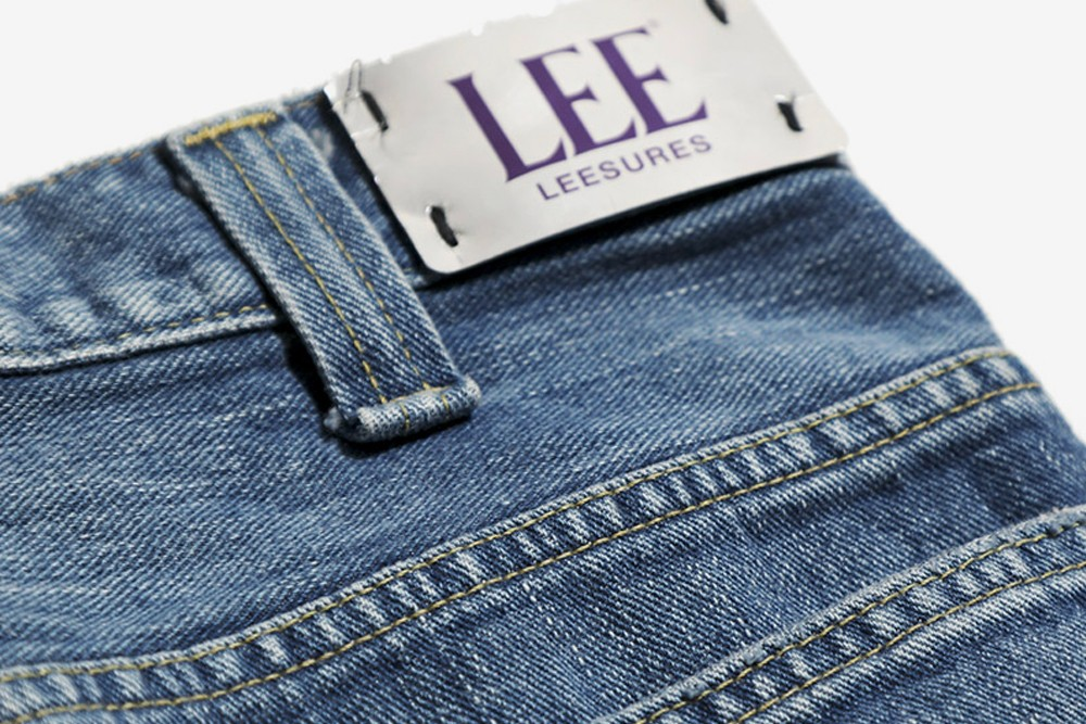 NEEDLES Lee Denim Jacket Jeans flare spring summer 2020 collection collaboration capsule nepenthes daiki suzuki keizo shimizu tokyo japan japanese designer butterfly embroidery logo
