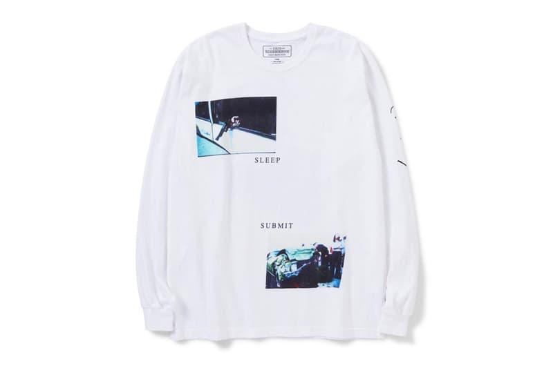 Osamu Nagahama NEIGHBORHOOD Spring Summer 2020 Capsule collection japanese designer photographer shinsuke takizawa japan tokyo menswear streetwear graphic hoodies shirts
