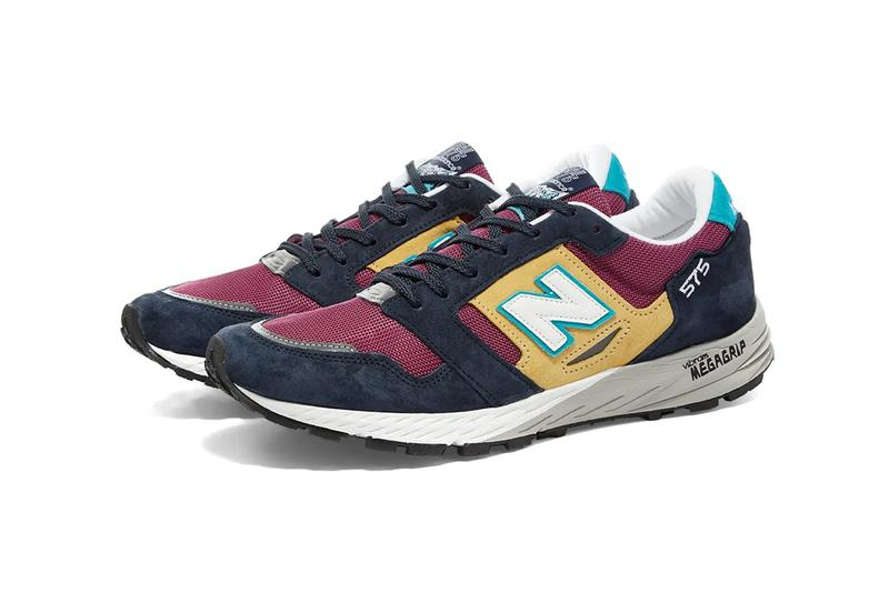 new balance 575 recount made in england navy yellow burgundy blue white grey vibram release date info photos price purple