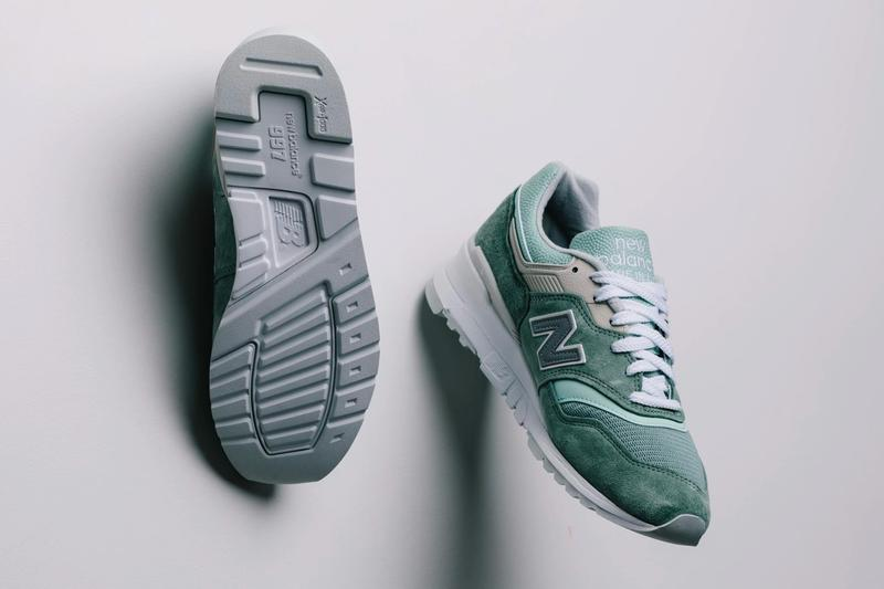 New Balance M997SOB Mint White sneakers runners trainers footwear shoes kicks spring summer 2020 collection capsule Fearlessly Independent Since 1906 Arch Support Company