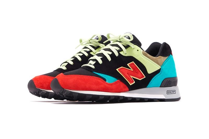 New Balance M577ST Made in UK Multicolor Black sneakers footwear shoes kicks trainers runners spring summer 2020 colletion pigskin suede leather mesh Fearlessly Independent Since 1906