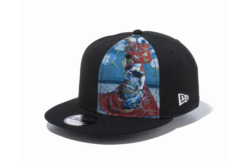 New Era Vincent van Gogh & Claude Monet 59FIFTY 9THIRTY Cap Collection 'Sunflowers' 'Starry Night' Blooming Flowers 'Water Lilies' 'La Japonoise' Paintings Embroidered Artist Signatures japan