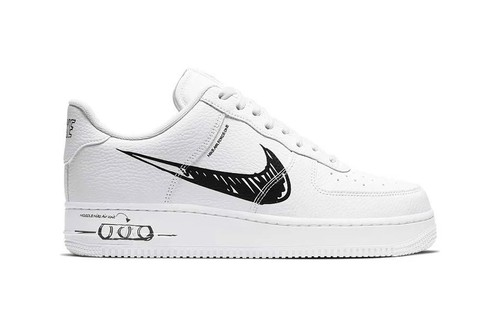 """Nike Air Force 1 and Blazer """"Sketch"""" Feature Scribbled Stylings"""