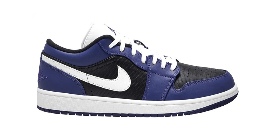 """Nike Air Jordan 1 Low Returns in Revised """"Court Purple"""" Colorway"""