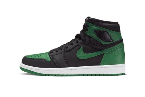 "Take an Official Look at the Air Jordan 1 Retro High OG ""Pine Green"""