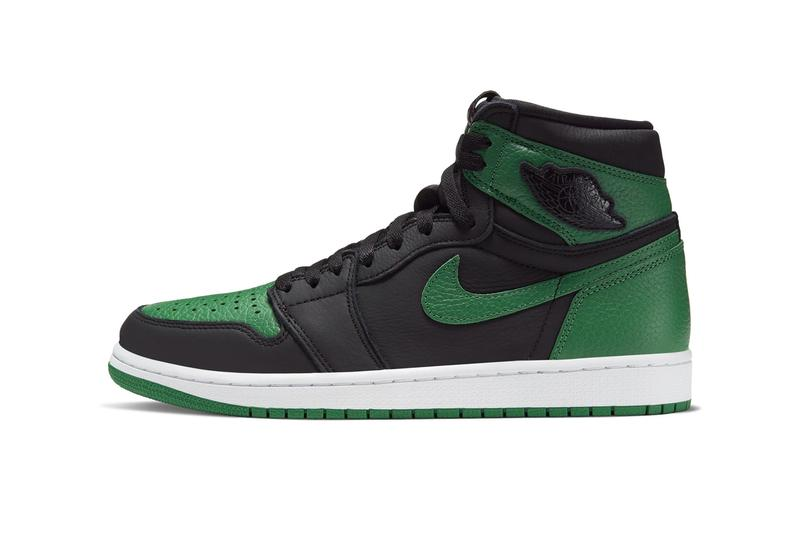"Air Jordan 1 Retro High OG ""Pine Green"" Release Info 555088-030 Black/White-Pine Green/Gym Red Orange where to cop snkrs retailers stockist"
