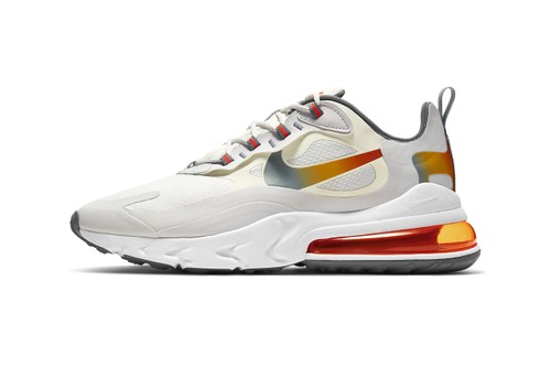 """Nike Accents Air Max 270 React With """"Metallic Gold"""" Highlights"""