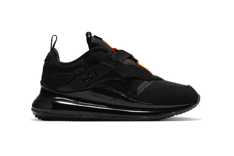nike air max 720 obj slip black total orange team orange da4155 001 800 cleveland browns release date info photos price