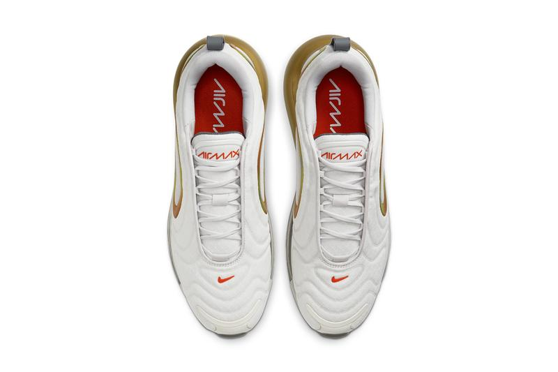 nike air max 720 summit white team orange smoke grey burst CI3870 100 release date info photos price