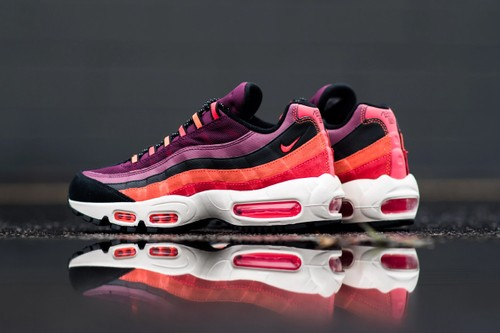 """Nike Air Max 95 Utility Appers in Vibrant """"Villain Red"""""""