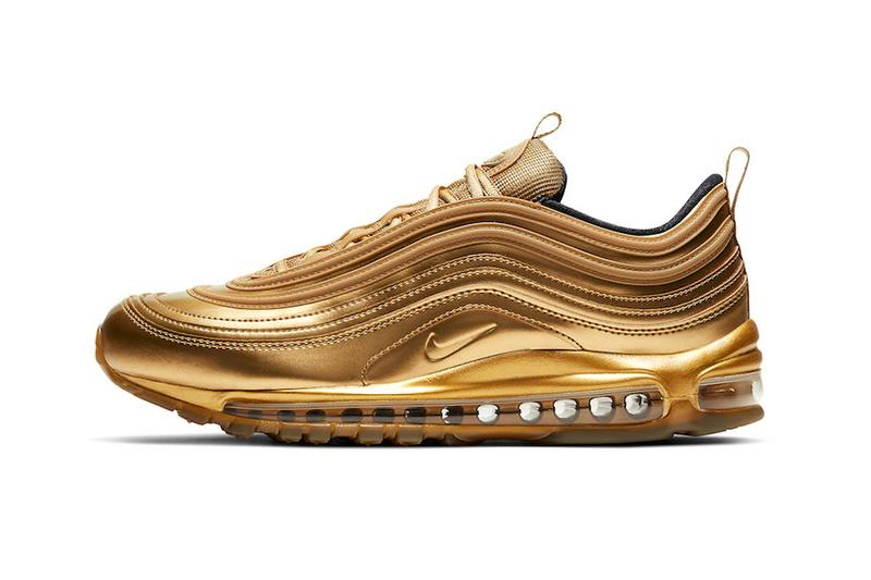 "Nike Air Max 97 ""Gold Medal"" for 2020 Tokyo Olympics japan medals sports"