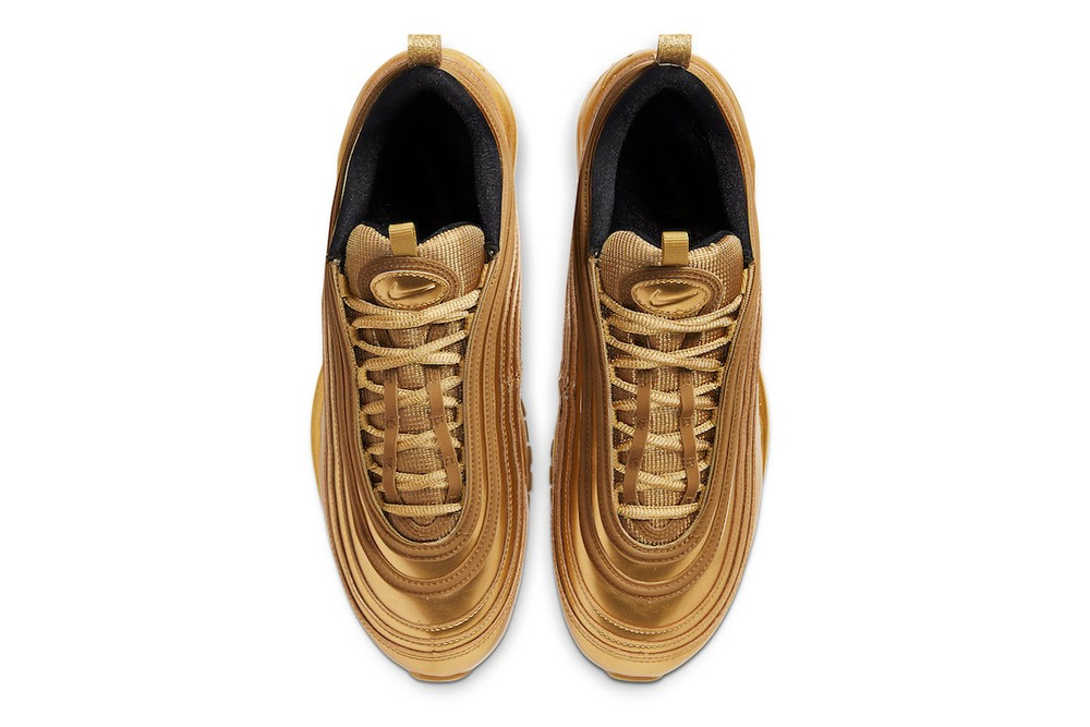 """Nike Air Max 97 """"Gold Medal"""" for 2020 Tokyo Olympics japan medals sports"""