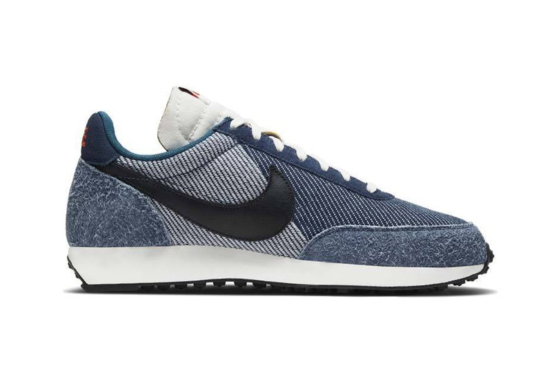The Nike Air Tailwind 79 Gets Covered in Denim and Leather