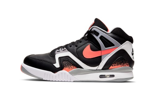 """Nike Air Tech Challenge 2 Is Back in """"Black Lava"""""""