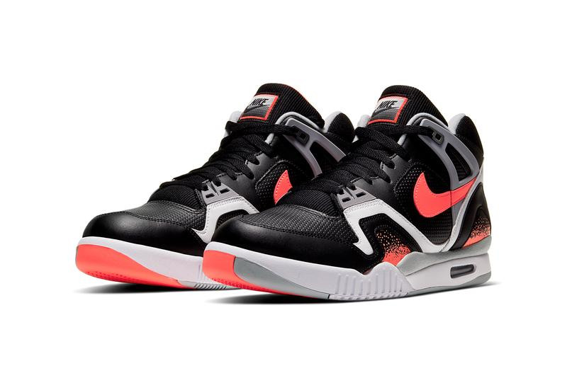 nike air tech challenge 2 ii black lava white grey CQ0936 001 nikecourt andre agassi release date info photos price