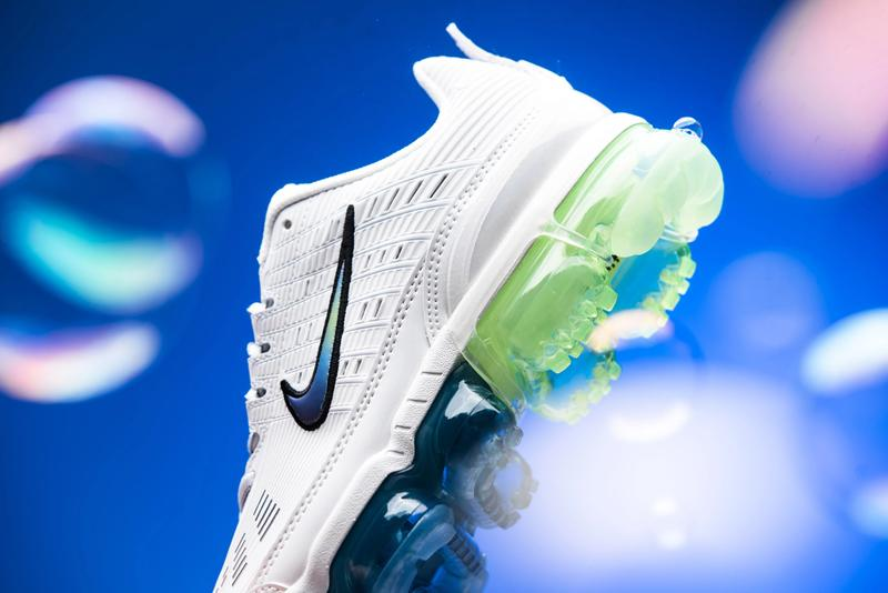 nike air vapormax 360 bubble pack summit white black green blue CT5063 100 release date info photos price
