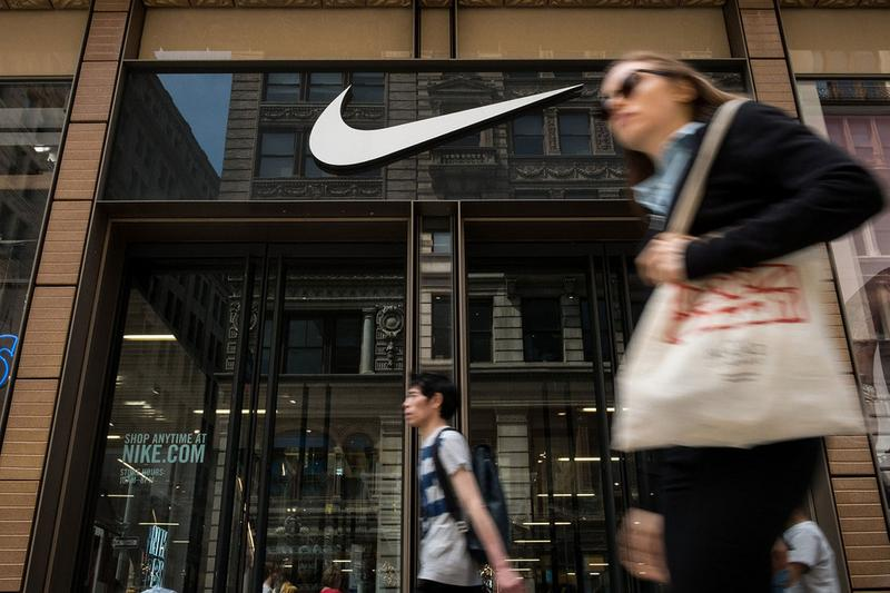 nike china greater market valuation loss 17 billion usd coronavirus pandemic sportswear finance economics
