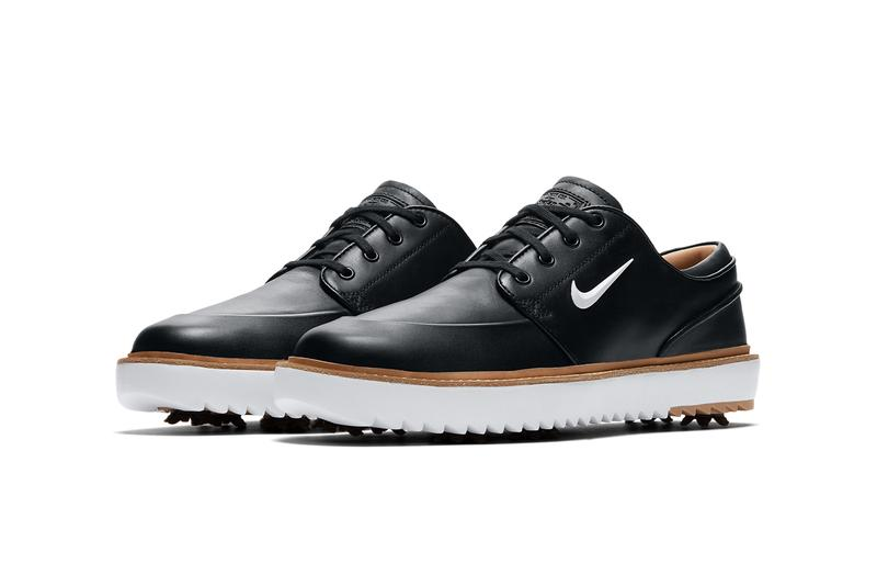 nike golf stefan janoski g tour Black Vachetta Tan Gum Medium Brown Metallic White BV8070 001 100 release date info photos price