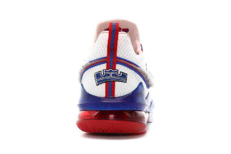 nike lebron 17 low tune squad CD5007 100 white university red game royal blue space jam 2 james release date info photos price