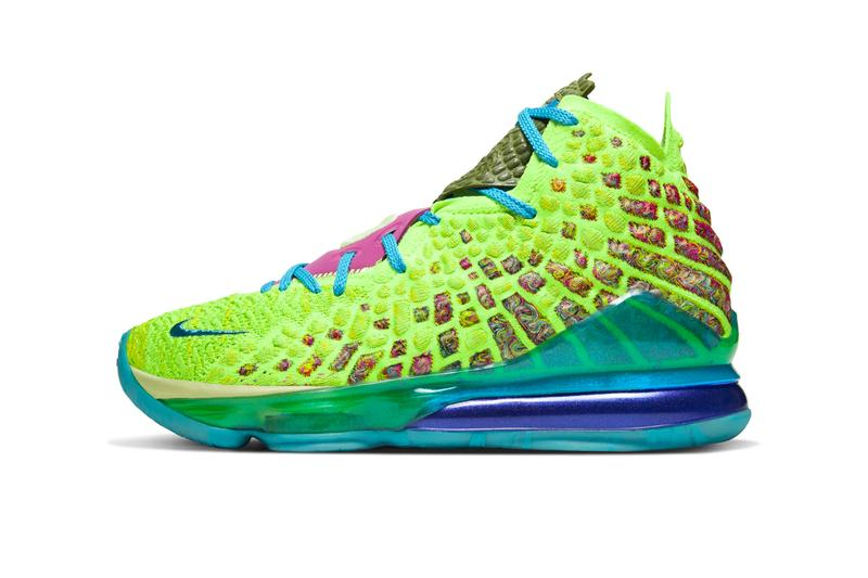 Nike LeBron 17 mr Swackhammer Release CV8075-300 space jam monstars nba all star weekend game basketball