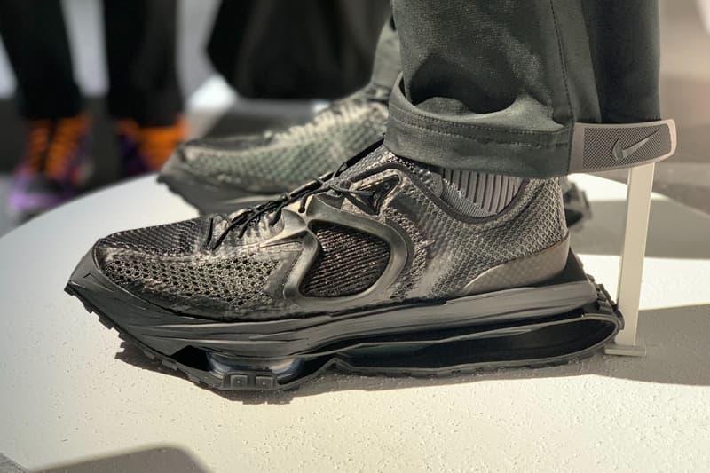 Matthew M Williams x Nike Zoom MMW 4 Info  Instagram 1017 ALYX 9SM tech shox footwear sneakers kicks