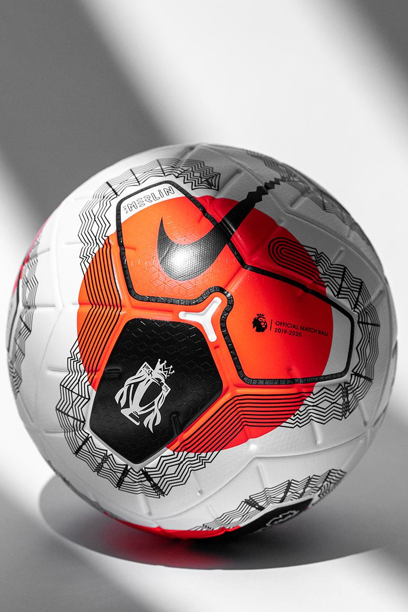 nike barclays english premier league soccer football nike merlin tunnel vision ball match