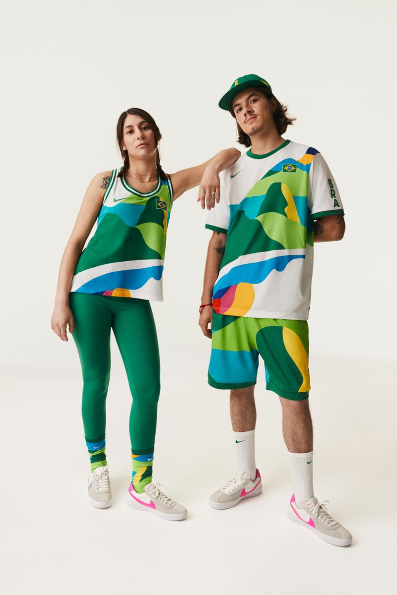 nike sb 2020 olympic games tokyo shoes apparel jerseys polos piet parra usa france brazil react bruin release date info photos price