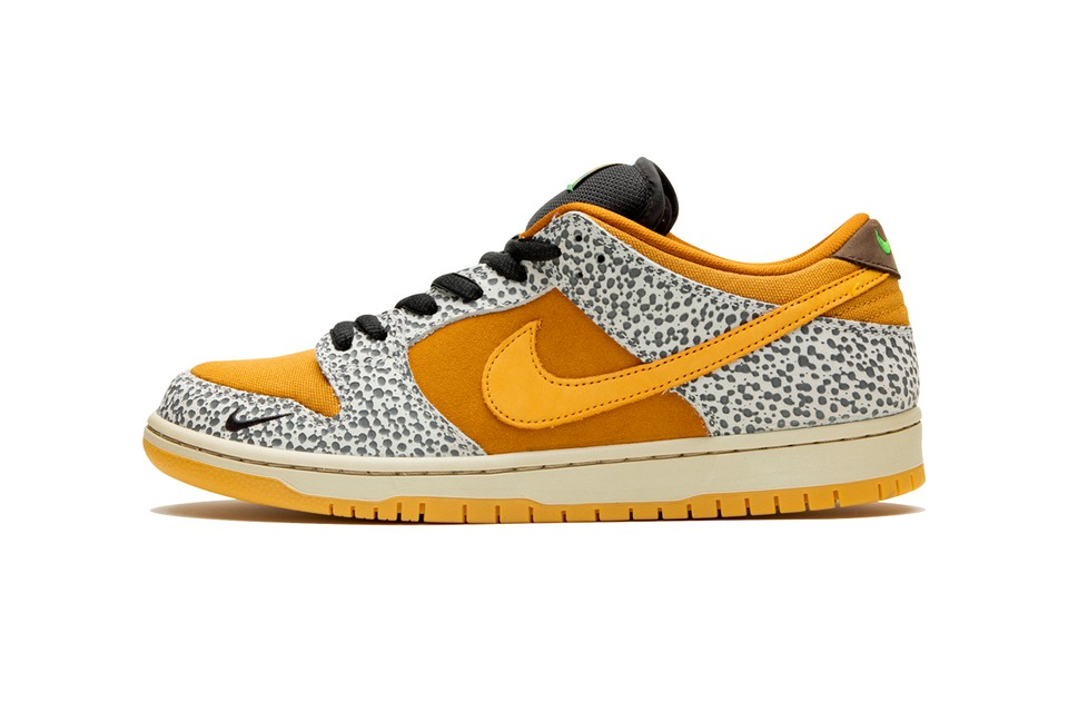 "The Nike SB Dunk Low ""Safari"" Receives a Release Date"