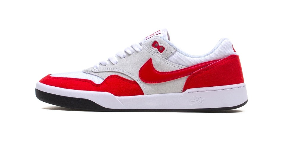 """Nike SB GTS Return Appears In Air Max 1-Inspired """"Sport Red"""""""