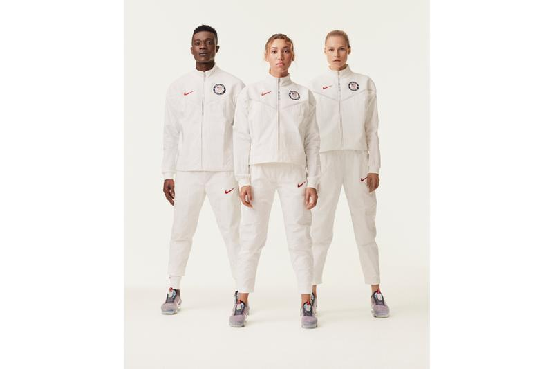 Team USA's 2020 Medal Stand Collection Tokyo Olympics vapormax sneakers footwear shoes Nike Air Vapormax 2020 sustainability Environment