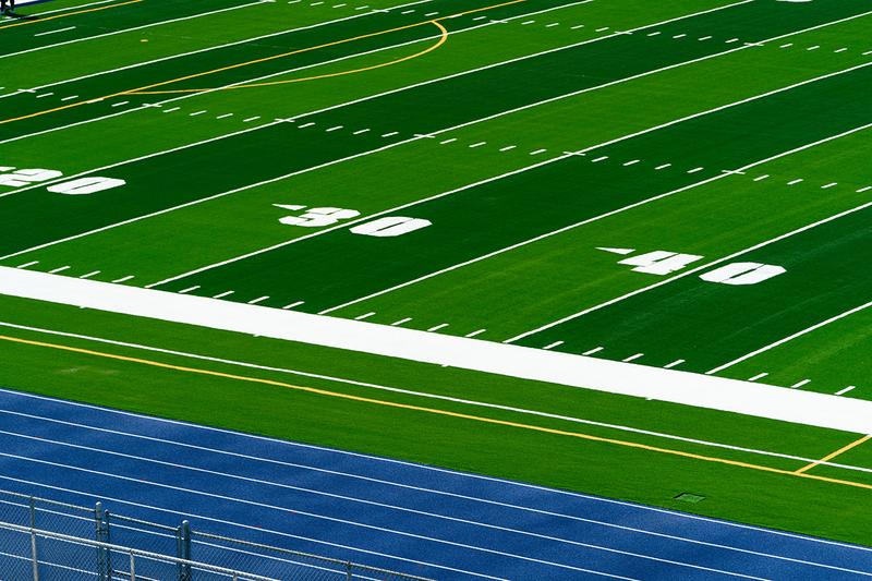 Nike Adds Sustainability Nathaniel Traz-Powell Stadium Miami Football sustanable details nfl practice Grind Infill material reduce waste