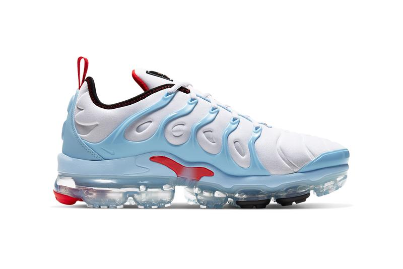 nike vapormax plus chicago white black psychic blue university red CW6974 100 release date info photos price