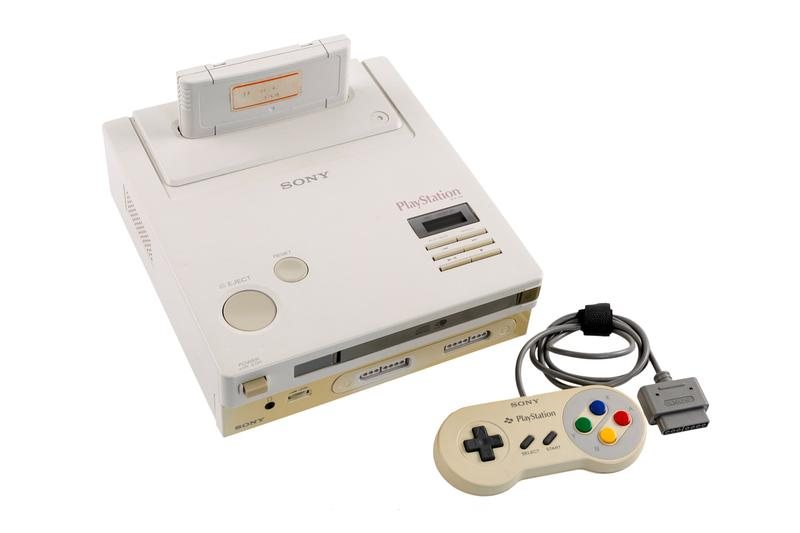 Nintendo PlayStation NES CD-ROM Prototype Auction Gaming Sony Consoles Heritage Auctions