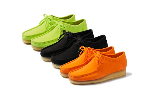 OVO Recruits Clarks for Neon-Hued Wallabee Lo Collaboration