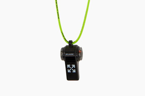 Off-White™ Compass Whistle Keychain