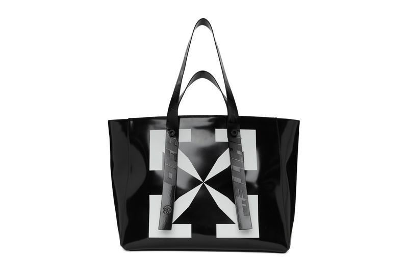 Off-White™- Arrows Tote Bag Release Virgil Abloh tote bags leather Tyvek PVC ripstop accessories