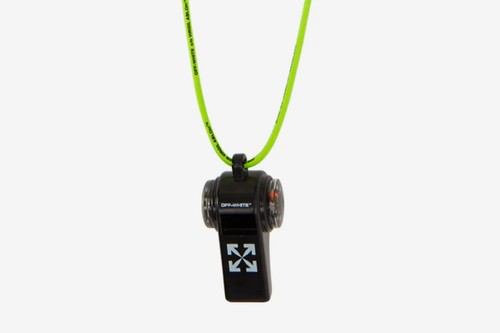 Off-White™'s Compass Whistle Keychain Is for the Urban Explorer