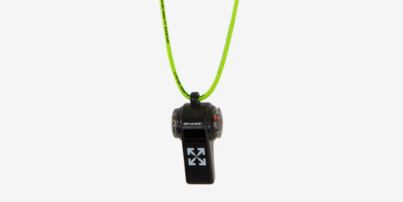 Off White Compass Whistle Keychain Release Info Buy Price Virgil Abloh