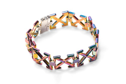 Off-White™ Releases a Striking Iridescent Arrows Bracelet