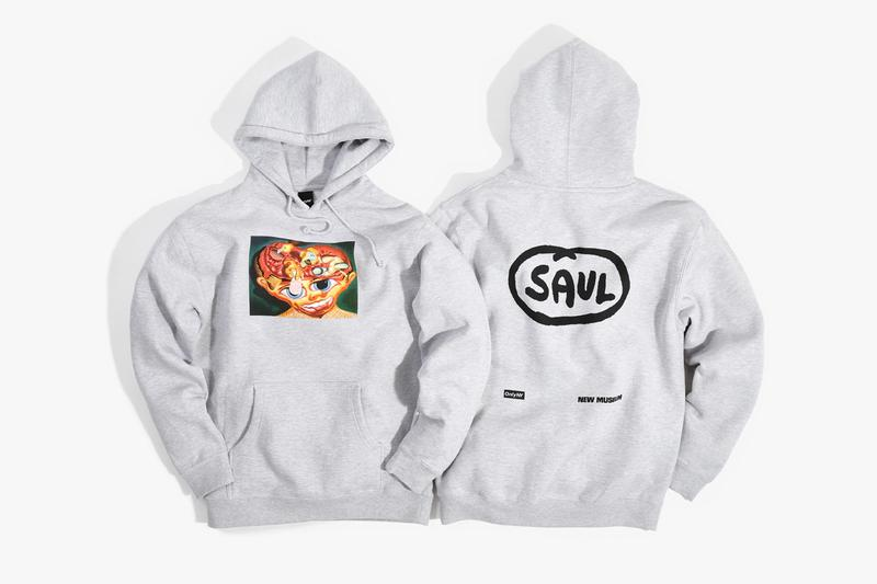 """New Museum x Only NY Peter Saul Apparel T-shirts Longsleeves Hoodies """"Peter Saul: Crime and Punishment"""" 'Businessman / Young Executive' 'Stuck' 'Self'"""