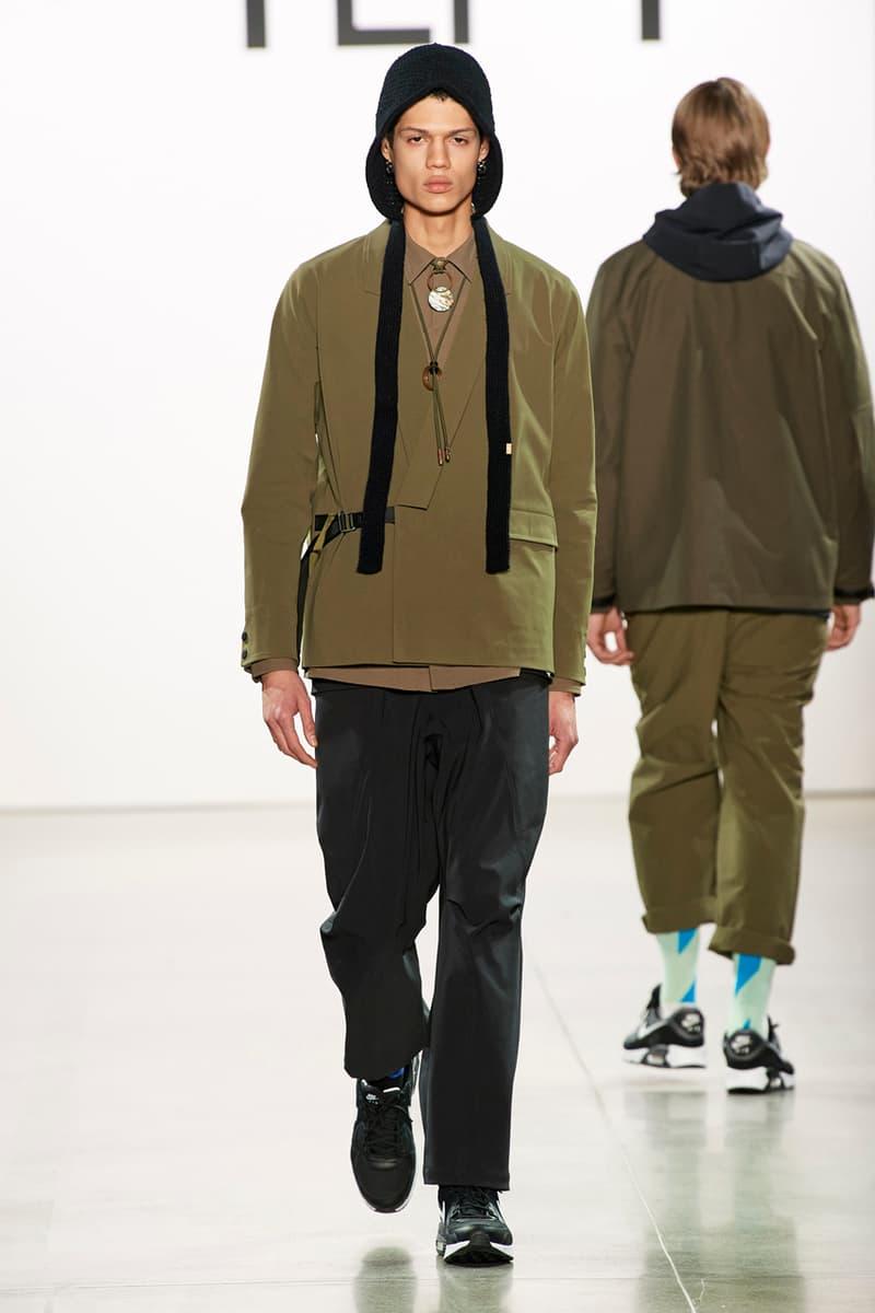 oqLiq Fall/Winter 2020 Collection Lookbook NYFW new york fashion week fw20 taiwan