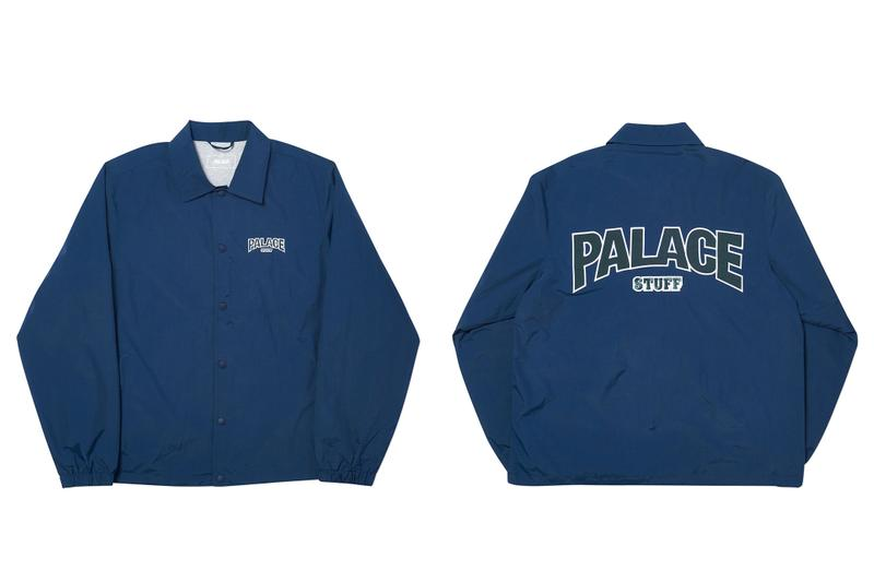 Palace skateboards spring 202 leather camouflage jacket release information buy cop purchase pockets bare storage japan new york los angeles
